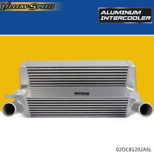 Performance Silver Front Mount Intercooler For 2015 Ford Mustang 2 3l Ecoboost