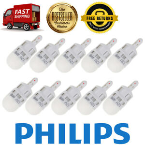 Philips 10x Amber Ultinon Led Side Marker Light Bulb Rear For 1968 Chevy Ii