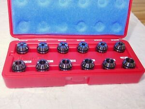 Accupro 12 Piece Er20 Collet Set 5 32 To 1 2 In 1 32 Size Increments 785104