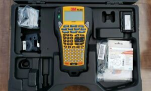 3m Pl300k Portable Rugged Industrial Commercial Label Maker With Case Extra Tape
