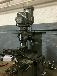 Bridgeport 2j Variable Speed Vertical Mill Milling Machine