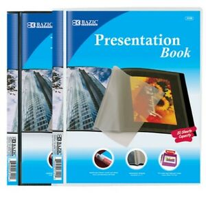 New 825516 Presentation Book 10 Pocket 24 pack Covers Cheap Wholesale