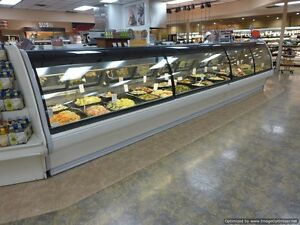 Tyler Nlm 24 Service Glass Fresh Red Meat Deli Grocery Cooler Display Case 2008