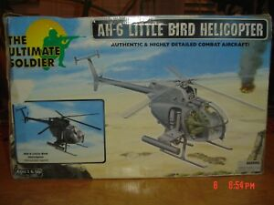 21ST CENTURY Ultimate Soldier 1 6 Little Bird NIGHT OPS BLACK AH 6 Helicopter $850.00