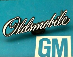 Nos 1976 Olds Cutlass S 442 Grill Script Emblem Ornament Panel Hurst Trim Seats