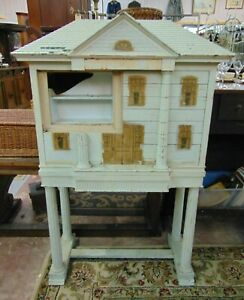 Antique Dentist Dental Cabinet Dollhouse Look One Of A Kind