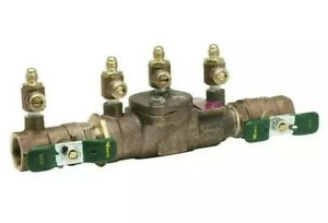Watts 3 4 In Brass Fpt X Fpt Reduced pressure Zone Assembly