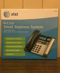 At t 1070 4 line Small Business Expandable Phone System Compatible 1040 1080