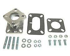 2 Barrel To 1 Barrel Carburetor Adapter jeep chevy And Ford 6 Cylinders rat Rod