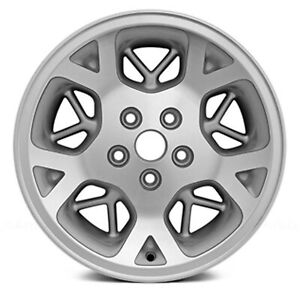 09015 Jeep Grand Cherokee 1996 1998 16 Inch Refinished Wheel Rim Machined Silver