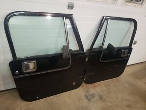 Jeep Cj7 Yj Full Hard Door Pair Laredo 1976 1995