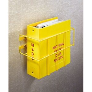 Bilingual Right To Know Sds Center Wire Rack And 3 Binder