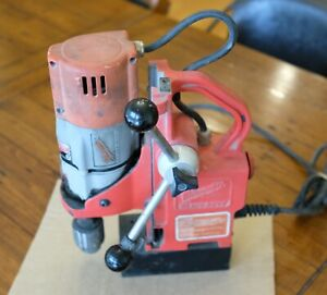 Milwaukee 4270 20 Magnetic Base Drill Used