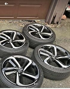 2018 Honda Accord Sport Oem 19 Factory Wheels And Tires Rims
