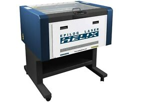 Epilog Helix Laser Engraver 60 Watt 24x18 Less Than 100 Hours Rotary And Parts