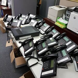Phone System Toshiba Strata 6x16 W Voicemail And 16 Phones