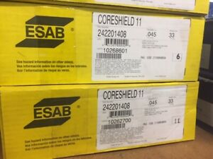 Esab Coreshield 11 Flux core 045 Wire E71t 11 33lb Spool 242201408