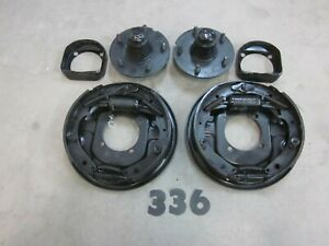 1953 1956 Ford F 100 Front Hydraulic Brakes Hubs Backing Plates