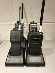Lot Of 4 Motorola Ht1000 Vhf Radios