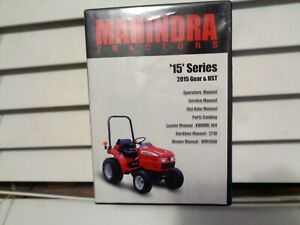 Mahindra 2015 Gear Hst Tractor Factory Service Parts Operators Manual Cd Oem
