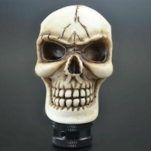 Manual Transmission Gear Stick Lever Shift Shifter Knob Wicked Carved Skull Cool