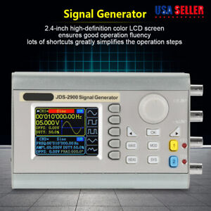 Jds2900 60mhz Dds Digital Function Signal Generator Counter Frequency Meter