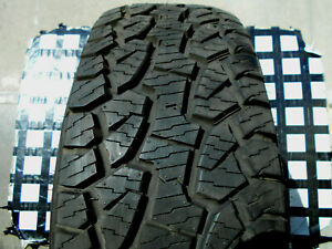 1 Barely Used Tire 265 65 17 Hankook Dyna Pro Atm All Terrain P265 65r17 Wht Ltr