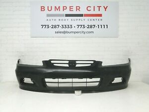 Oem 2001 2002 Honda Accord Coupe Front Bumper Cover 04711 S82 A91zz