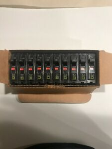 Square D Qo120 New Plug in Circuit Breaker 20a 1 Pole box Of 10 Brand New