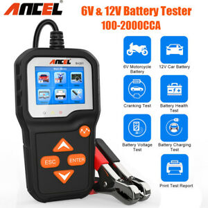 12v Voltage Car Truck Battery Tester Universal Led Analyzer Diagnostic Scan Tool