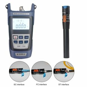 Fiber Optical Power Meter 10mw 10 12km Visual Fault Locator Optic Cable Tester