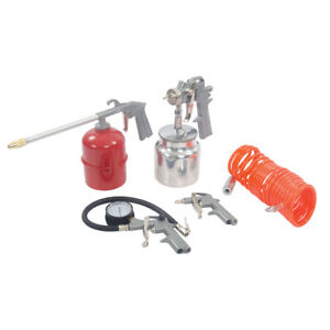Silverline Air Tools Compressor Accessories Kit 5pce 633548