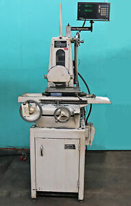 Harig 6 X 12 Hand Feed Surface Grinder Super 612