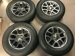 18 Jeep Gladiator Overland Wheels And Tires Brand New Takeoffs Jt Jk Jl Oem