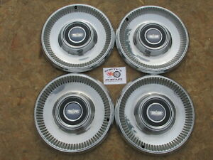 1973 Chevy Caprice 15 Wheel Covers Hubcaps Set Of 4