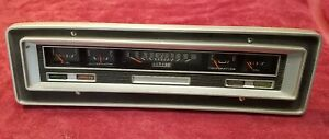 1970 1971 Dodge Power Wagon Truck Speedometer Instrument Cluster Assy Used