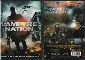Vampyre Nation (NEW DVD 2016)  Andrew Lee Potts Heida Reed Claudia Bassols