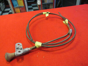 1939 Packard Overdrive Lockout Cable