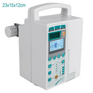 Medical Best Infusion Pump Iv Fluid Equipment Voice Warn Alarm Monitor Kvo Purge