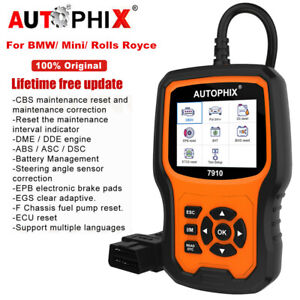 Obd2 Scanner Abs Srs Sas Epb Tpms Oil Light Bms Check For Bmw Mini Rolls Royce