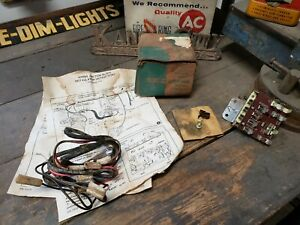 Nos 1956 Chevy Accessory Junction Block Unit Original Gm Delco Remy 805
