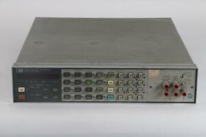 Hp 3456a 6 1 2 Digit Digital Voltmeter Unit