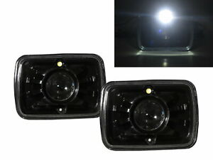 K30 1979 1986 Pickup 4d Projector Headlight Black V2 For Chevy Lhd