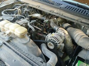 99 00 Ford F250 F350 F450 F550 7 3 Powerstroke Diesel Engine Complete Pull Out