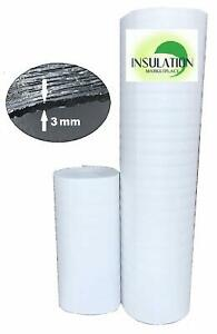Smartshield 3w White Reflective Insulation Roll Foam Core Radiant Barrier 3mm