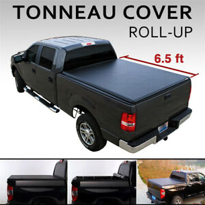 Soft Roll Up Tonneau Cover For 2002 2019 Dodge Ram 1500 2500 3500 6 5 Bed