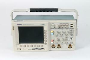 As Is Tektronix Tds 3032 Two Channel Color Digital Phosphor Oscilloscope