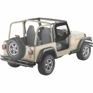 Bestop Half Doors Set Of 2 Front New Jeep Wrangler 1997 2006 Pair 51790 15