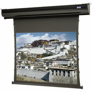 Da lite 88492 Contour Electrol Motorized Front Projector Screen 69 92