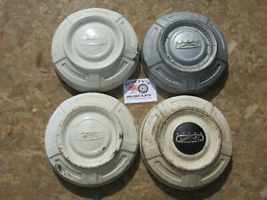 1967 74 Ford 3 4 Ton Pickup Truck Dog Dish Hubcaps Set Of 4 Painted Style